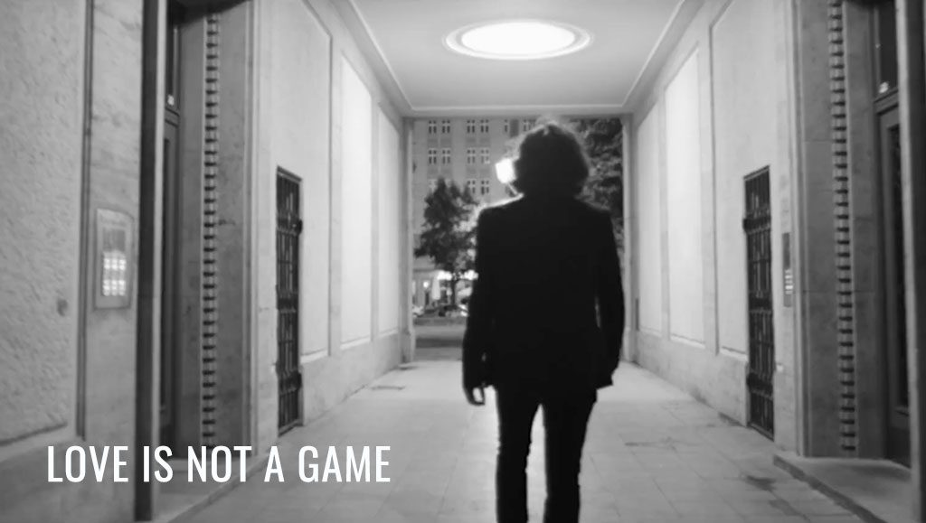 Video for the single Love Is Not A Game by Matt Adey