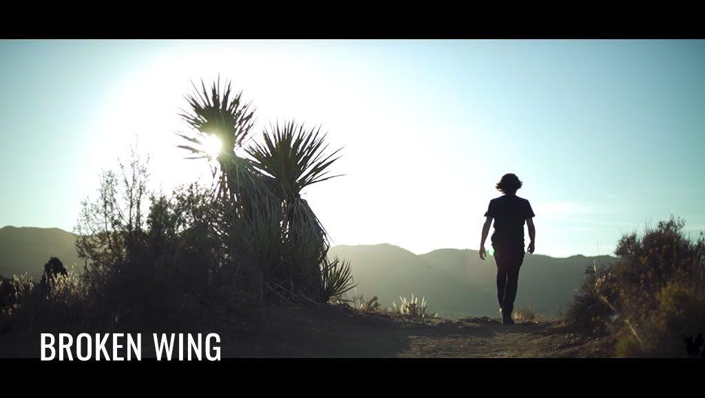 Broken Wing single video on Youtube, Matt Adey